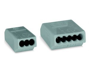 273 series junction box WAGO connectors for solid conductors