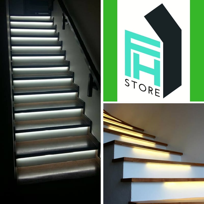 Future House Store LED staircase lighting