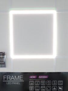 LED line frame panel 60x60 591x591 614x614 4000K office display