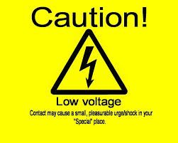 electric field low voltage sign
