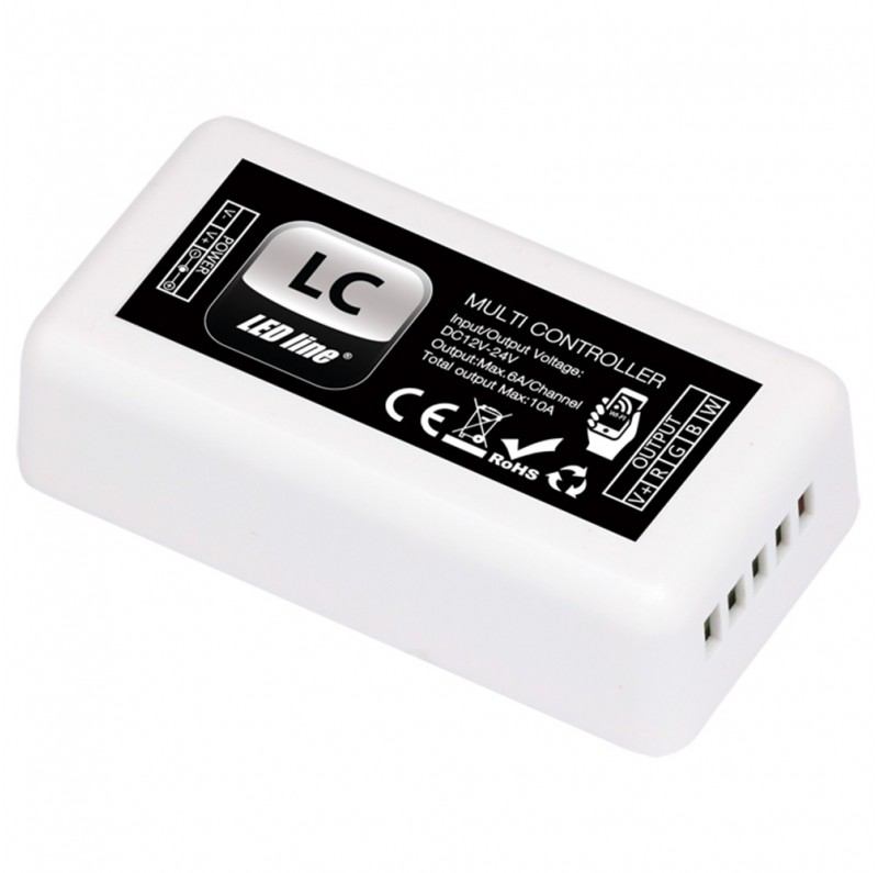 LED line® LC multi-controller RGBW 4CH 12-24V DC 10A WiFi