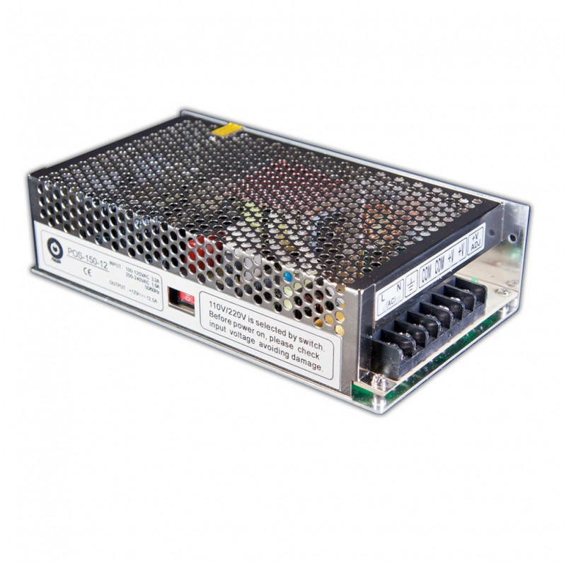 What do you know about modular power supplies? LED driver transformer 12V 150W IP20