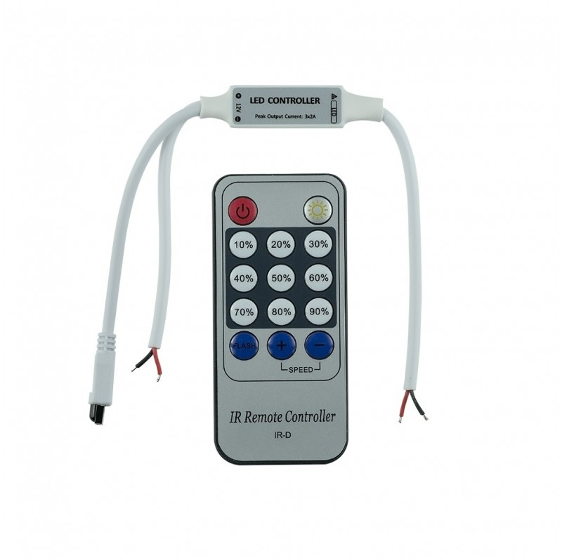 Single colour IR mini remote controller ID-2081