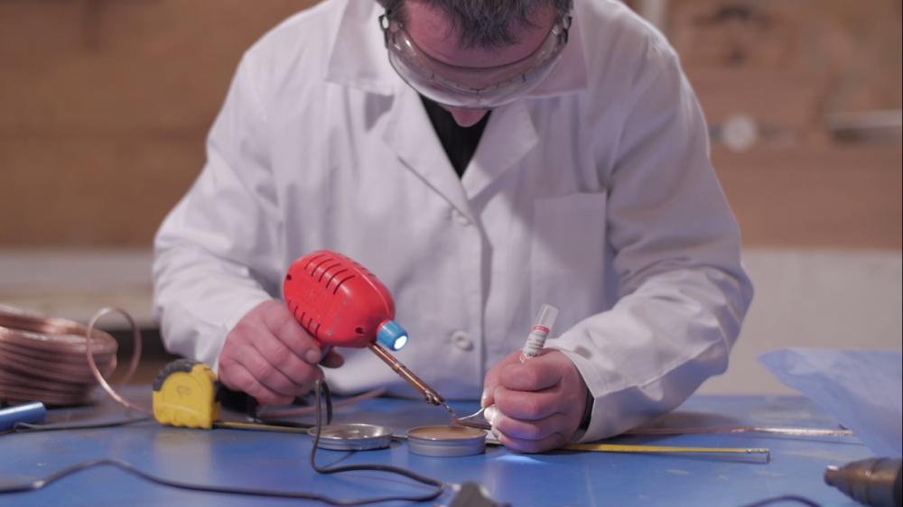 bespoke LED lighting cut solder wire lines strips modules join kit