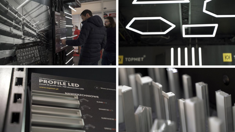 TOPMET aluminium LED profiles professional lighting channels
