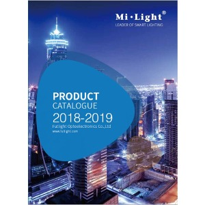 Mi-Light product catalogue smart lighting remote controlled lights RGB+CCT