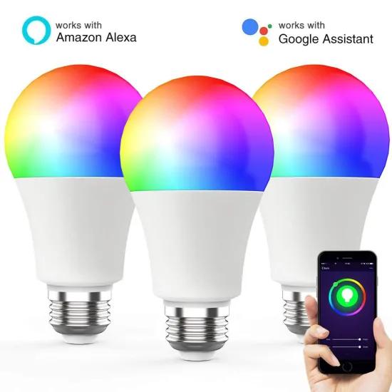 compatible LED light bulb with Tuya Smart app