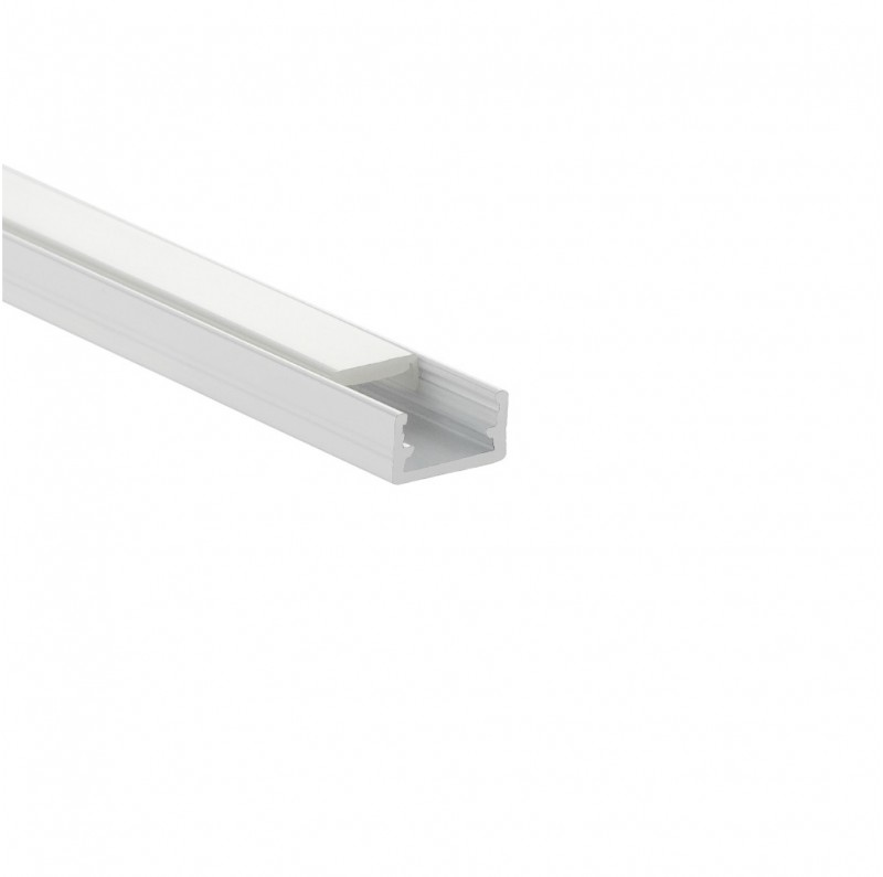 Design Light surface LED profile LINE MINI white milky cover