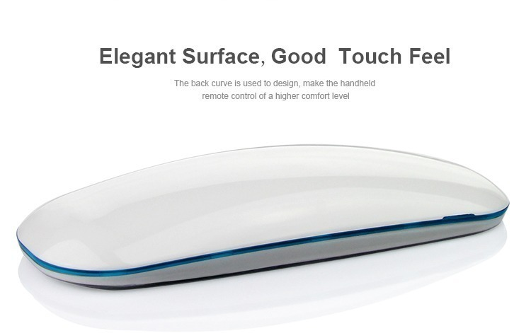 elegant and smooth surface good feel in touch remote controller LED lights control