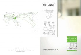 Mi-Light 2016 catalogue smart lighting controllers LED bulbs inteligent home automation