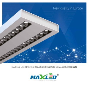 MAX-LED 2018 catalogue new quality in europe product catalogue PDF
