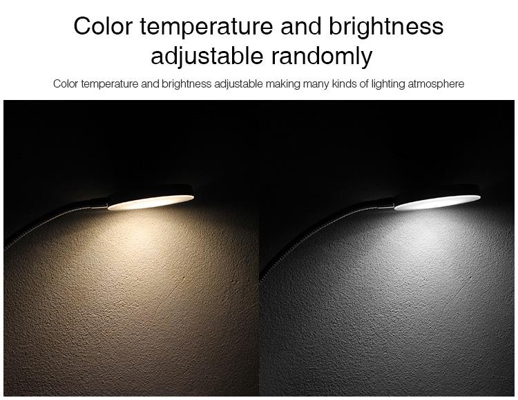 Mi-Boxer 6W GU10 RGB+CCT LED spotlight FUT106 colour temperature and brightness