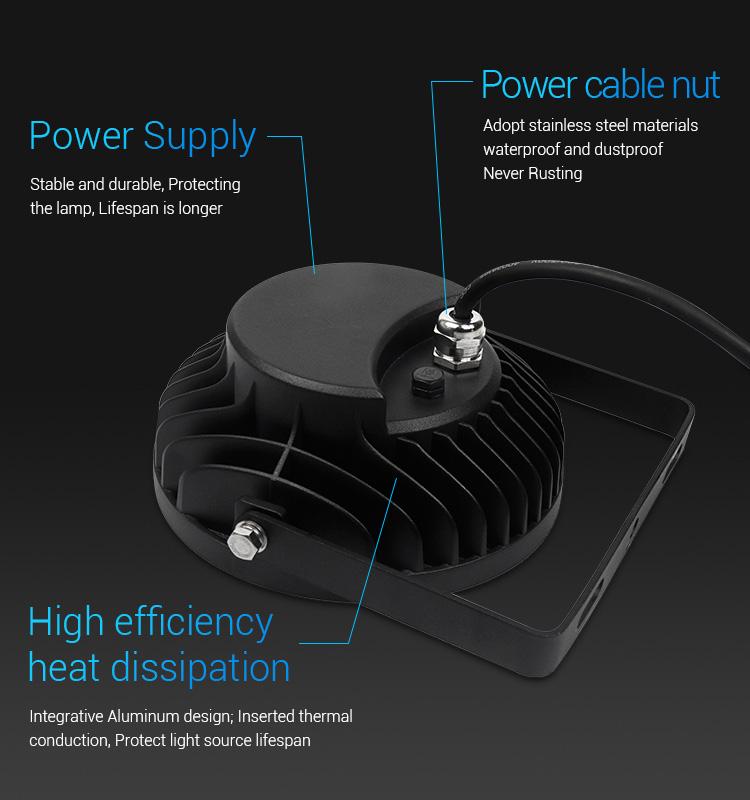 Mi-Light 25W RGB+CCT smart LED garden lamp FUTC05 product details