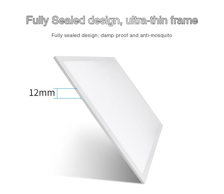 Mi-Light 40W RGB+CCT panel light FUTL01 fully sealed design ultra thin frame