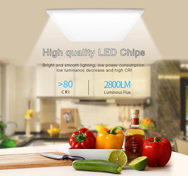 Mi-Light 40W RGB+CCT panel light FUTL01 high-quality LED chips bright light