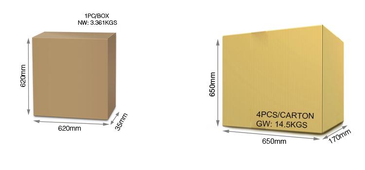 Mi-Light 40W RGB+CCT panel light FUTL01 wholesale and retail packaging multipack bulk order