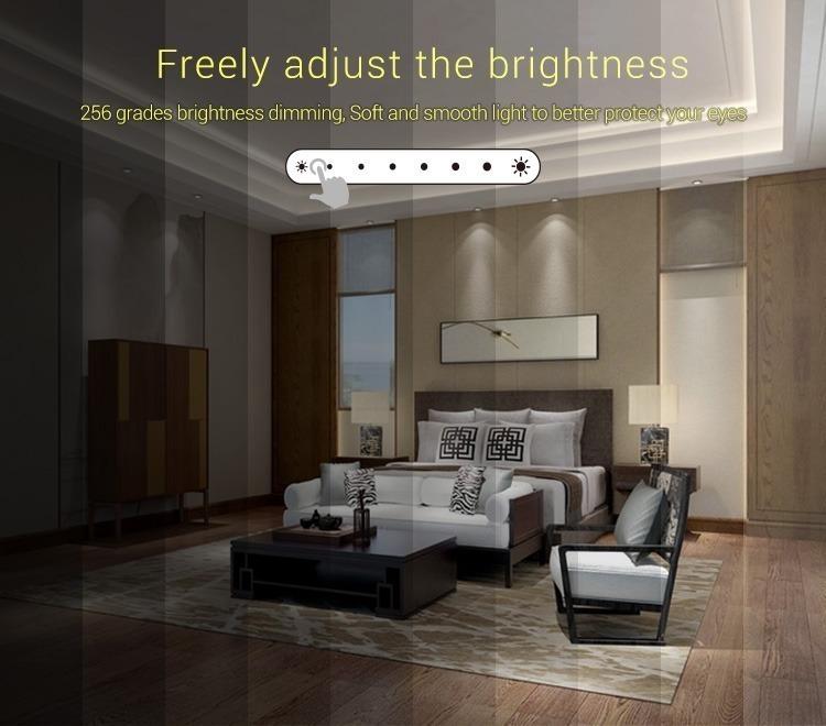 Mi-Light 1-channel 0~10V panel dimmer L1 freely adjust the brightness slider