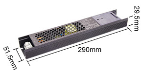 Mi-Light 100W 5 in 1 LED strip controller PX1 - size