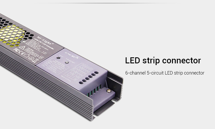 Mi-Light 100W 5 in 1 LED strip controller PX1 6-channel