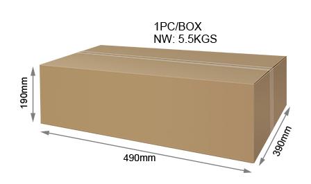 Mi-Light 100W RGB+CCT LED floodlight FUTT07 packaging retail and wholesale box