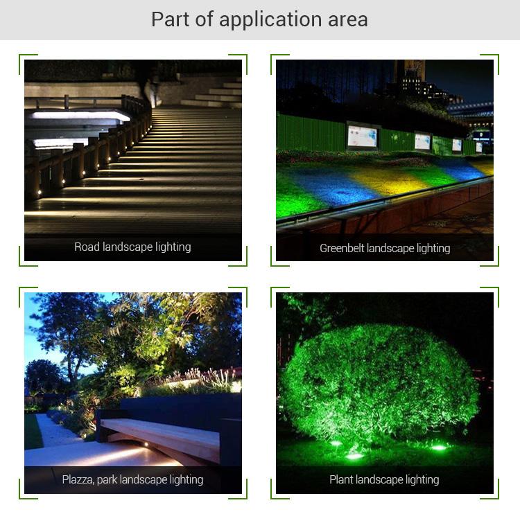 garden spot light smart lamp application outdoor IP65