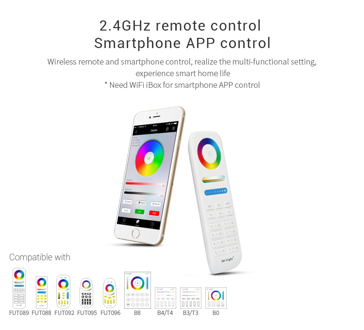 Garden lamp smart light compatible remote controllers app & Wi-Fi control