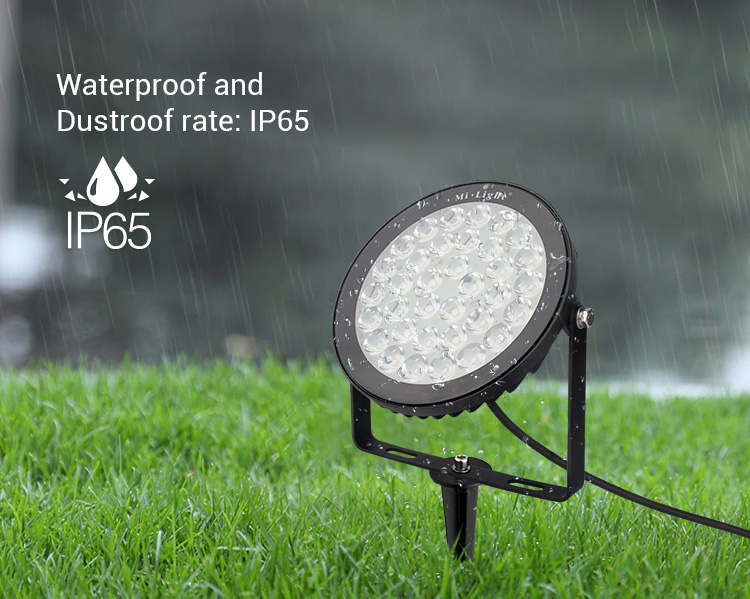 waterproof IP65 outdoor garden lamp smart remote controllable LED light RGB+CCT