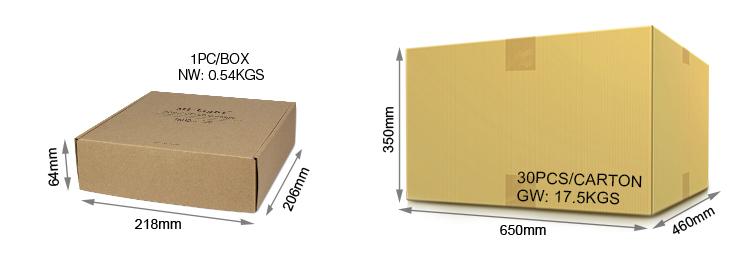 Mi-Light 18W RGB+CCT LED downlight FUT065 packaging retail and wholesale box