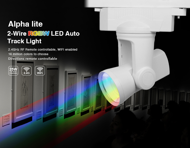 Mi-Light 25W 2-wire RGBW alpha lite AL3 auto