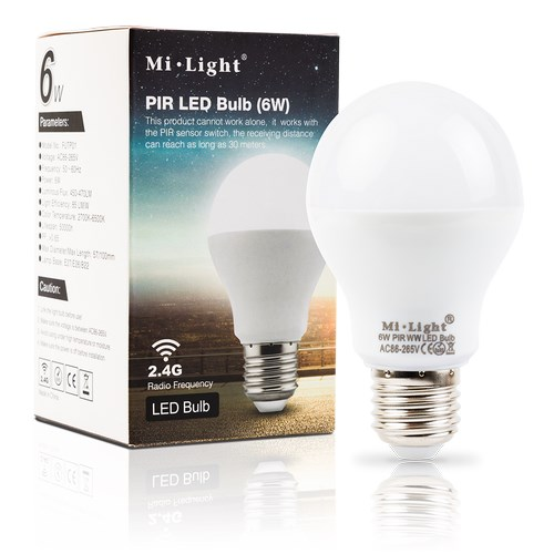 White Bulb Light Neutral Pir Mi Led 6w Futp01 eYHDWE9Ib2