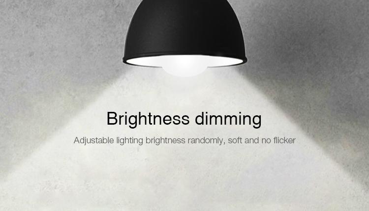 Mi-Light 9W DMX512 RGB+CCT LED light bulb FUTD04 brightness dimming