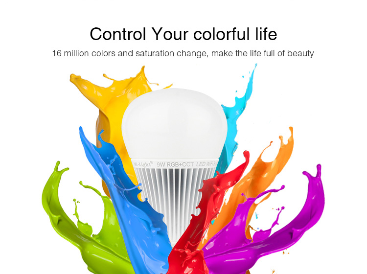 control your colourful life 16 million colours and saturation change