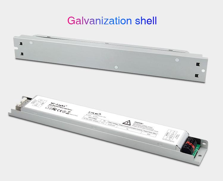 Mi-Light 40W RGB+CCT panel light driver PL5 galvanised body