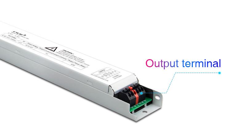 Mi-Light 40W RGB+CCT panel light driver PL5 output terminals