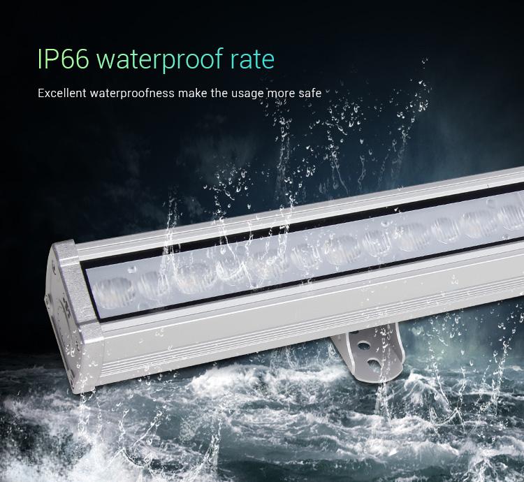 Mi-Light 48W RGB+CCT LED wall washer light RL2-48 waterproof outdoor light