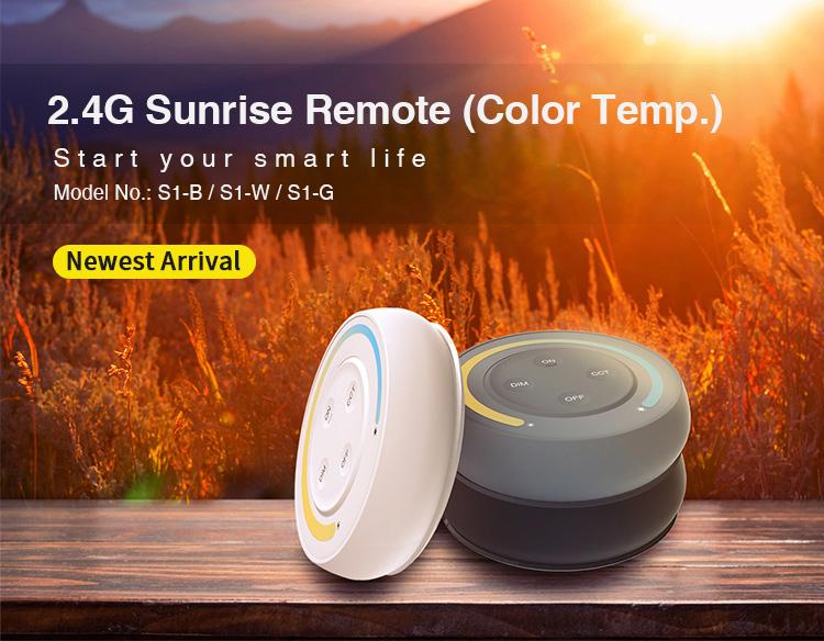MiBoxer 2.4G sunrise remote (colour temperature) S1 newest 2021 remote