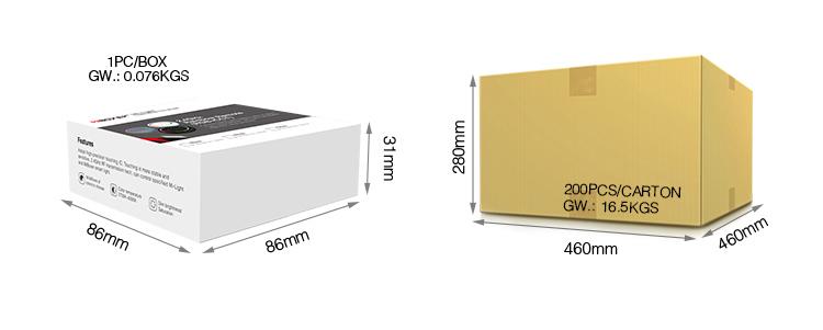 MiBoxer 2.4G rainbow remote (RGB+CCT) S2 wholesale buy in bulk Mi-Light UK
