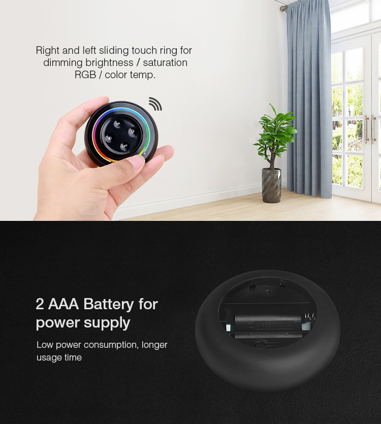 wall LED remote perfect fit for any room or apartment
