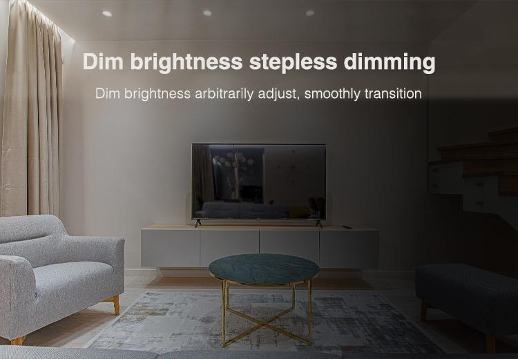adjust brightness of the spot light