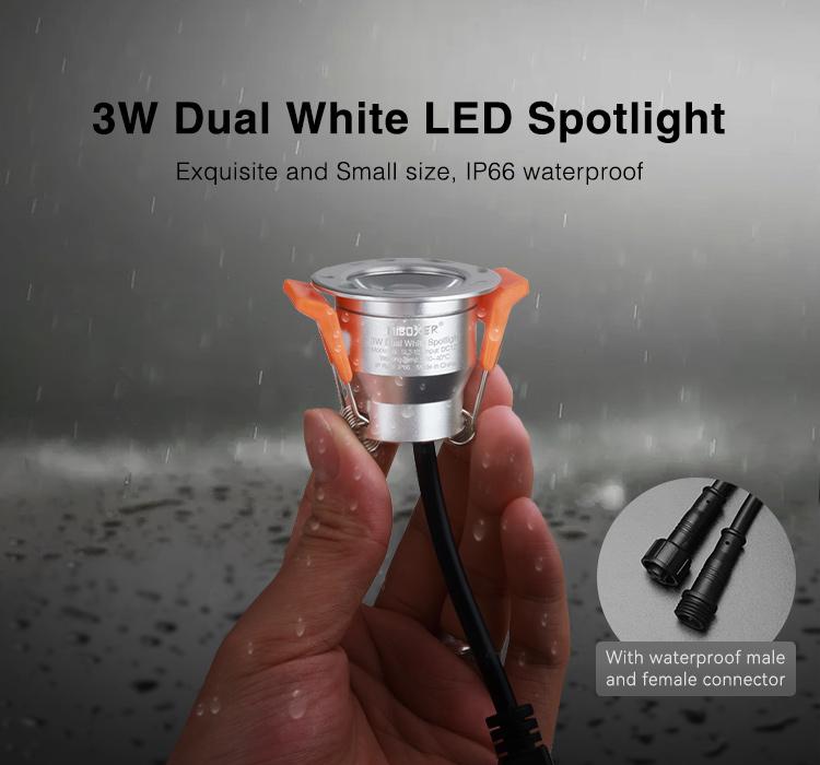 MiBoxer 3W multi white CCT LED spotlight SL2-12