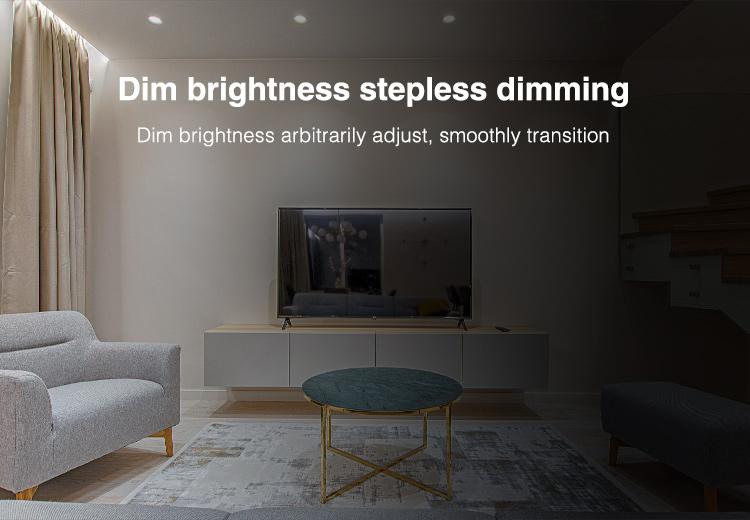 adjust brightness and colour temperature
