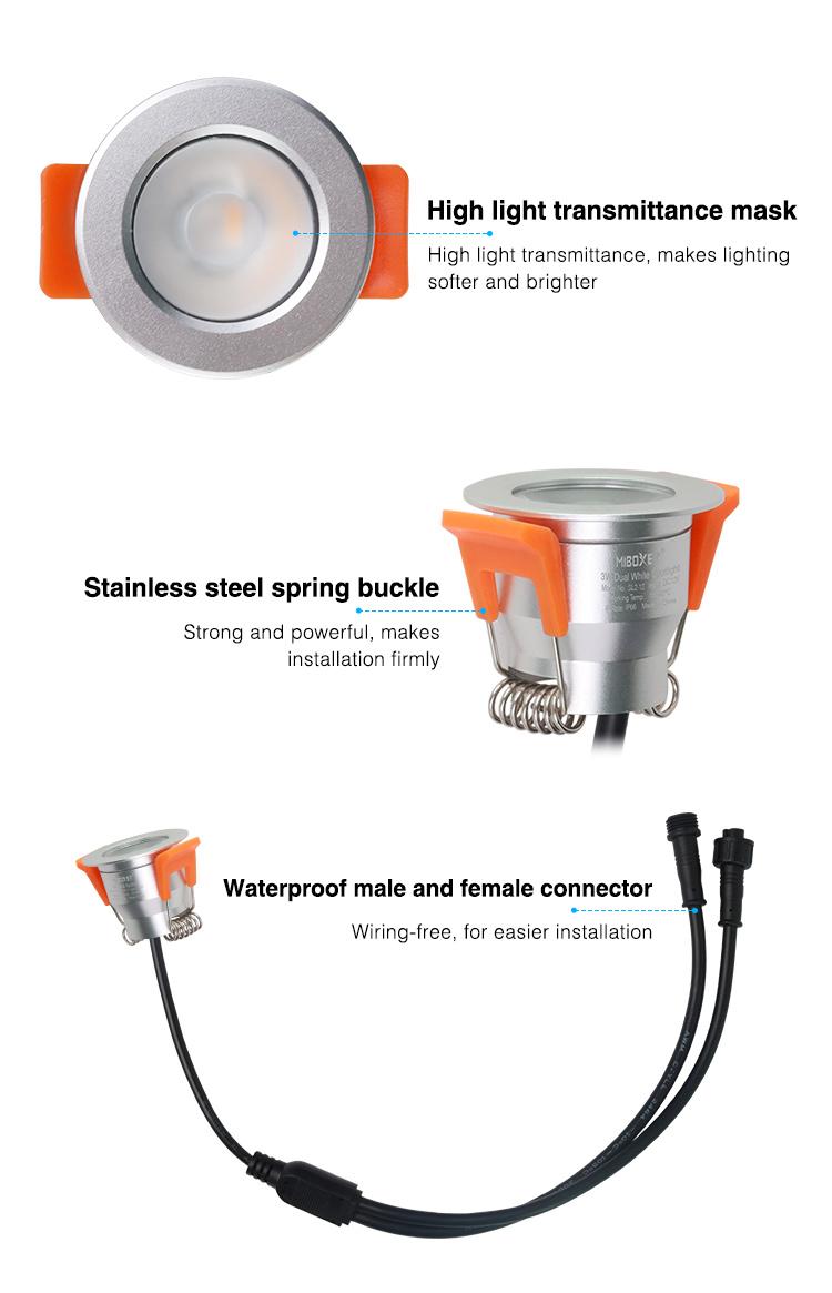 aluminium garden LED spotlight
