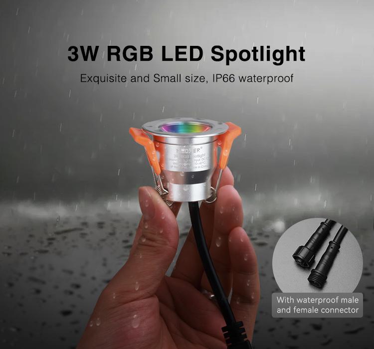 Mi-Light 3W RGB LED spotlight SL3-12
