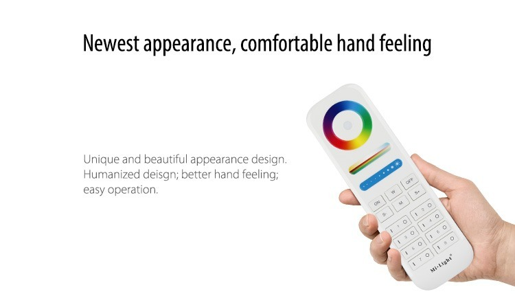 new appearance comfortable hand feeling unique and beautiful milight remote controller