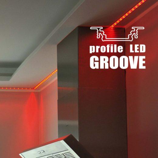 topmet recessed profile GROOVE10