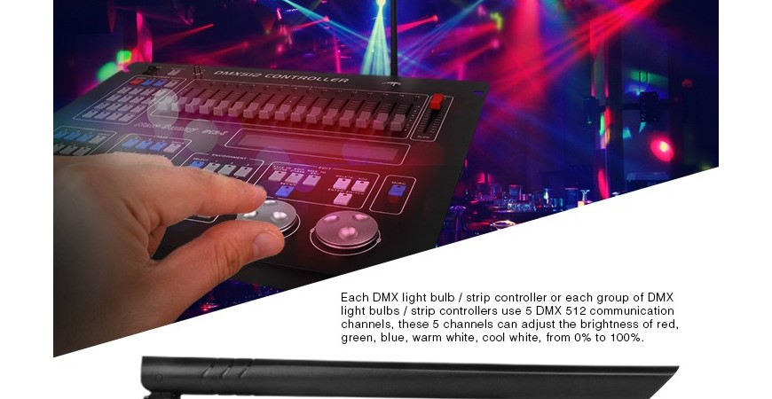 All about DMX Control for LEDs