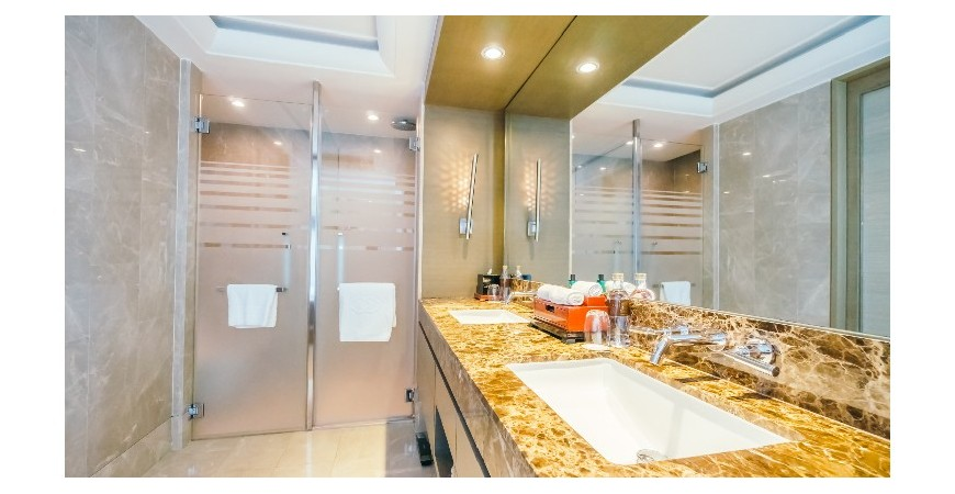 What light fittings for the bathroom?