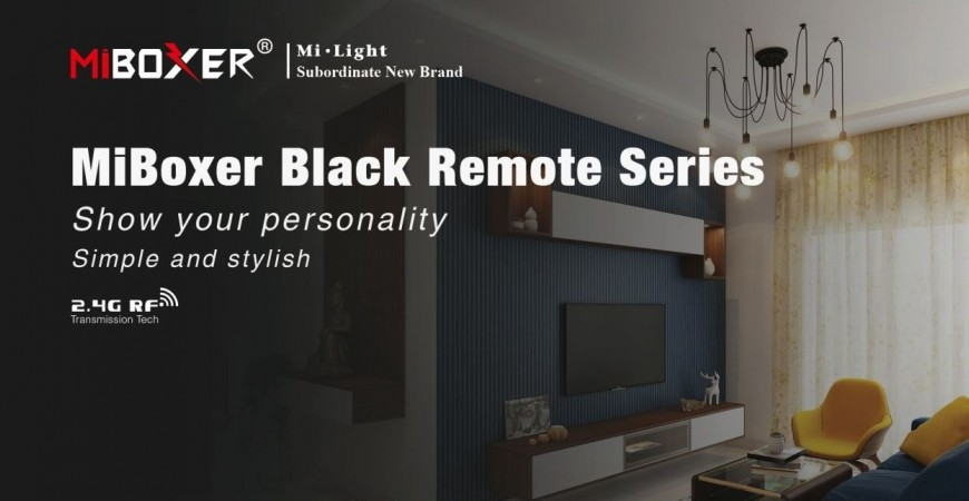 New Mi-Light black Remote series