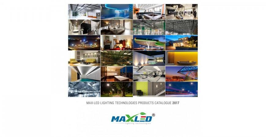 New 2017 MAX-LED catalogue