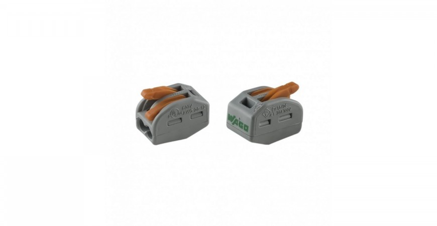 WAGO 221 series compact lever connectors